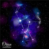 Orion Constellation. Royalty Free Stock Photos