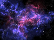 Orion i universum Royaltyfria Bilder