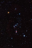 Orion-Konstellation Stockbild
