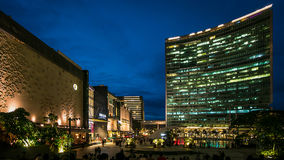 Orion Mall, Bangalore. An evening at Orion Mall, Bangalore, India royalty free stock photo
