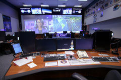 Orion Mission Control Center Arkivbild