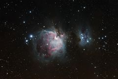 Orion nebula Royalty Free Stock Photo