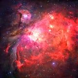 Orion Nebula nello spazio cosmico Elementi di questa immagine ammobiliati dalla NASA immagini stock libere da diritti