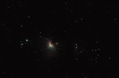 The Orion Nebula. And stars Royalty Free Stock Images