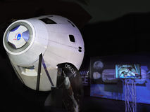 Orion Spacecraft, Astronautics Exhibition Stock Image