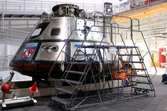 Orion Spacecraft Mockup Royaltyfri Foto