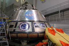 Orion Spacecraft Mockup Royaltyfria Bilder