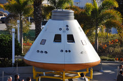 Orion spacecraft model in Kennedy Space Center Stock Images