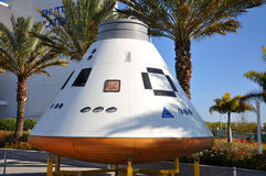 Orion spacecraft model in Kennedy Space Center Stock Image