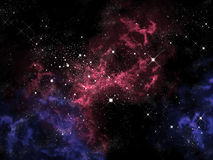 Orion in the universe Stock Photos