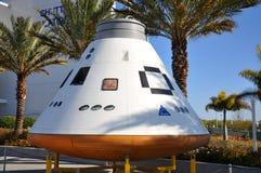 Orions-Raumfahrzeugmodell in Kennedy Space Center stockbild