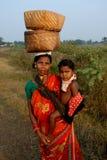 Orissa-Índia tribal Fotos de Stock Royalty Free