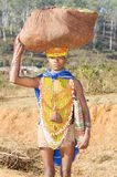 Orissan tribal woman Royalty Free Stock Photos