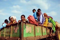 Orissas Stammes- Frauen. Stockbild