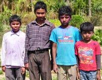 Orissi children Stock Images