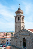 Oristano cathedral Stock Image
