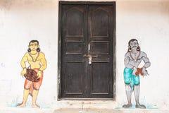 Oriyan malowidła ścienne Fotografia Stock