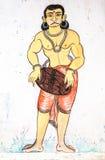 Oriyan Mural Stock Image