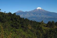 Orizaba Spitze und Sierra Negra Lizenzfreie Stockfotografie