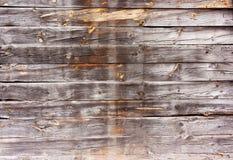 Orizzontale, bordi di legno, vecchi, indossati, bruciati Immagine Stock