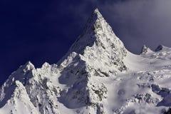 Orizzontale del picco di montagna Fotografie Stock