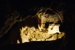 Orizzontale di Crystal Cave Fotografia Stock