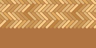 Orizzontale di legno astratto dei pannelli di pavimento senza cuciture Fotografie Stock