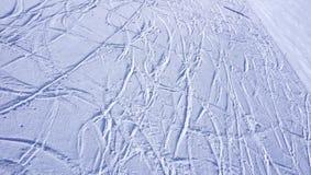 Orizzontale di Titlis del giacimento delle montagne della neve dello sci Fotografia Stock Libera da Diritti