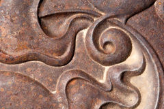Orizzontale a spirale curvo di progettazione Immagine Stock