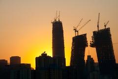Orizzonte al tramonto Fotografie Stock Libere da Diritti