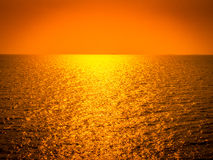 Orizzonte all'oceano Immagini Stock Libere da Diritti