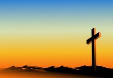 Orizzonte arancione santo Fotografia Stock Libera da Diritti