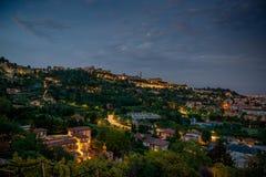 Orizzonte Bergamo Immagini Stock Libere da Diritti