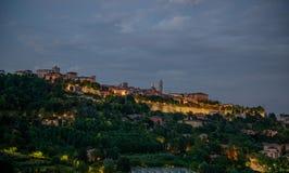 Orizzonte Bergamo Fotografie Stock Libere da Diritti