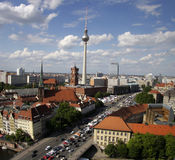 Orizzonte Berlino Fotografie Stock