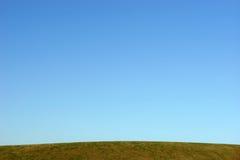 Orizzonte blu libero Fotografia Stock