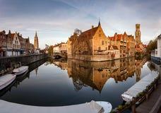 Orizzonte Bruxelles di Bruges Fotografie Stock Libere da Diritti