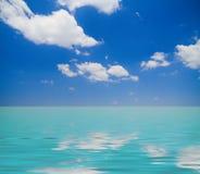 Orizzonte caraibico Fotografia Stock