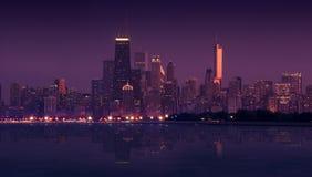 Orizzonte Chicago Immagini Stock