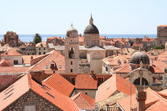Orizzonte Croatia di Dubrovnik Fotografia Stock Libera da Diritti