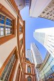 Orizzonte dei grattacieli Fotografia Stock Libera da Diritti