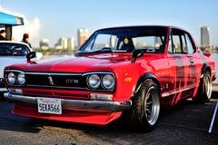 Orizzonte dei Nissan GTR Fotografie Stock