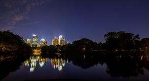 Orizzonte del centro di Atlanta Immagine Stock Libera da Diritti