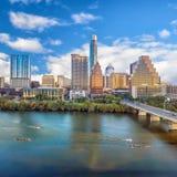 Orizzonte del centro di Austin, il Texas immagine stock libera da diritti