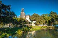 Orizzonte del centro di Austin, il Texas immagini stock libere da diritti