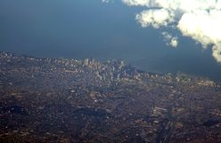 Orizzonte del Chicago Immagini Stock