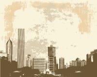 Orizzonte del Chicago Fotografie Stock Libere da Diritti