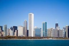 Orizzonte del Chicago Lakeshore Immagine Stock