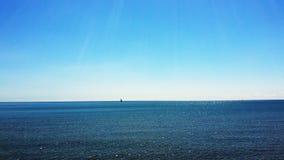 Orizzonte del cielo blu Fotografia Stock Libera da Diritti