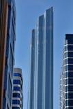 Orizzonte del grattacielo dell'Abu Dhabi Immagine Stock Libera da Diritti